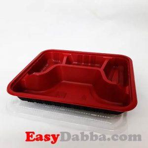 4 portion tray