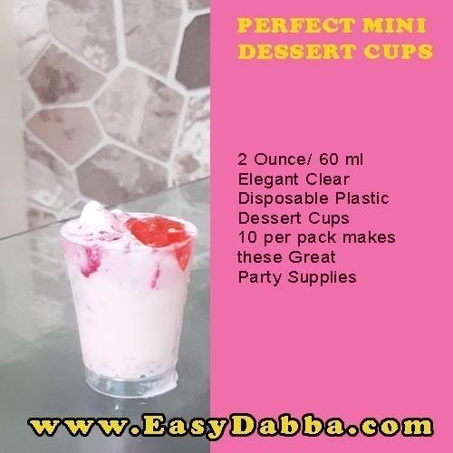 PERFECT MINI DESSERT CUPS