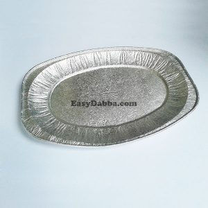 Disposable Silver Food Trays