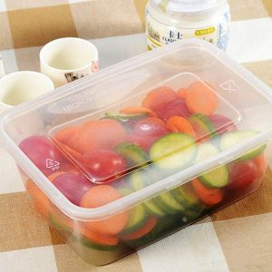 1000ml Microwavable Plastic Containers