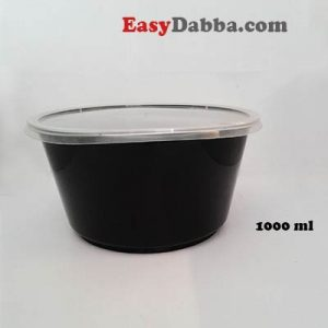 Black Bowl 1000ml