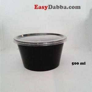 Black Bowl 500ml