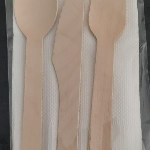 Disposable Birch Wood Cutlery