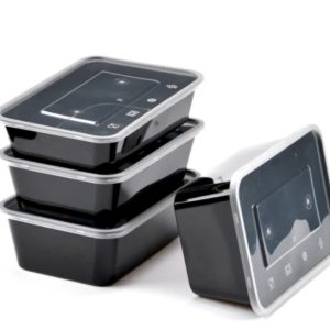 Black Base Containers