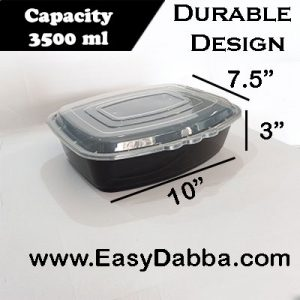 Family size food container – 3500ml