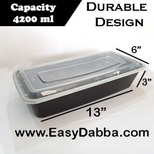 Family size food container – 4200ml